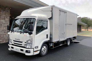 日本リンクス2トントラック フロント