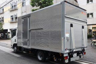 日本リンクス2トントラック リア